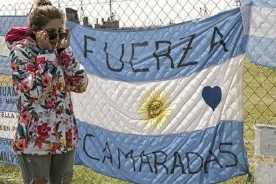 Familias piden al Congreso investigar submarino argentino desaparecido