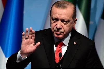El presidente turco Recep Tayyip Erdogan