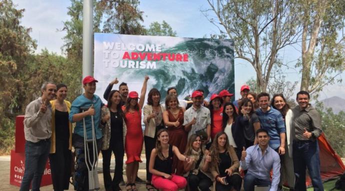 Campaña Internacional impulsa el turismo aventura en Chile