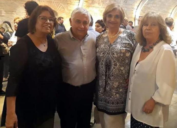 Compartiendo este momento con mis colegas Anitarosa y Vicky Lara.