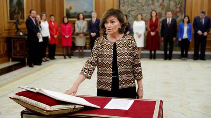 Calvo niega que el Gobierno pretenda controlar la Fiscalía con Delgado: 'Es una fiscal de reconocido prestigio'