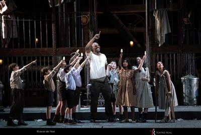"""Street Scene"" de Broadway a Madrid Teatro Real de Madrid"