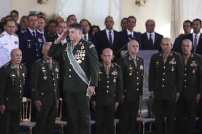 Cambio del Comando del Ejército. Brasilia, 11/01/19 (Imagen de Valter Campanato/Agência Brasil)