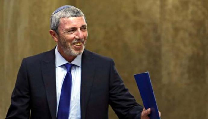 Rafi Peretz, ex exrabino en jefe del Ejército, antiguo colono en Gaza y líder del partido ultranacionalista Hogar Judío.