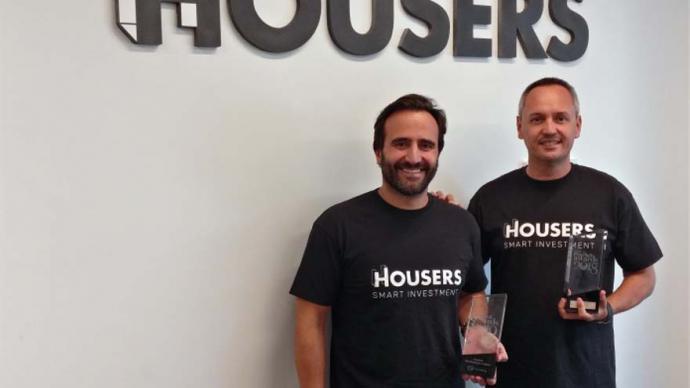 Álvaro Luna y Juan Antonio Balcázar, fundador y CEO de Housers
