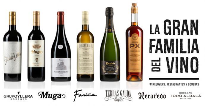 La Gran Familia del Vino apoya la Hostelería