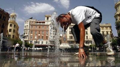 Ola de calor africano dispara los termómetros en España
