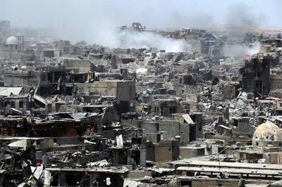 Más de un millón de personas huyeron de Mosul y 825.000 siguen desplazadas
