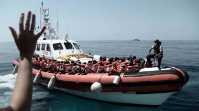 La difícil acogida de los migrantes en España