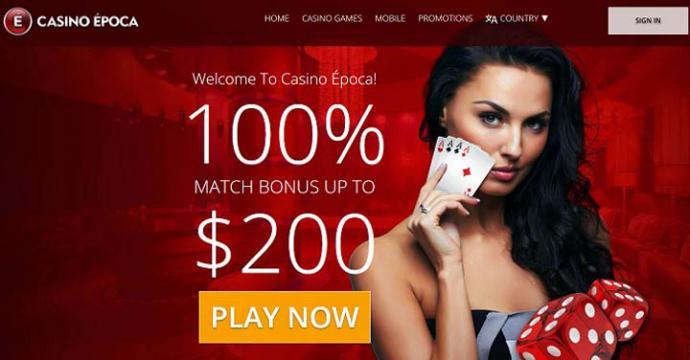 Casino Época, el Top de los juegos online