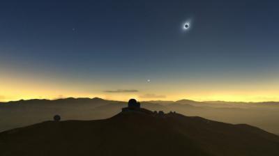 National Geographic realizará concurso para ver eclipse de sol desde un vuelo charter