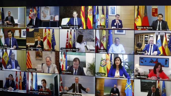 Arranca la 14 Conferencia de Presidentes de Sánchez con CCAA.