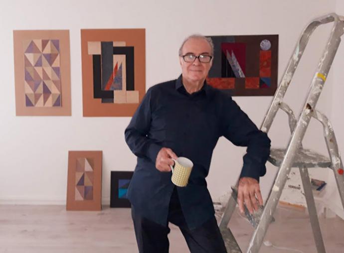 Fernando Verdugo, ganador del III Certamen Internacional de pintura abstracta Mario Saslovsky