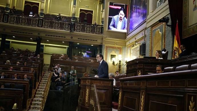 Mariano Rajoy y la moción de censura por corrupción