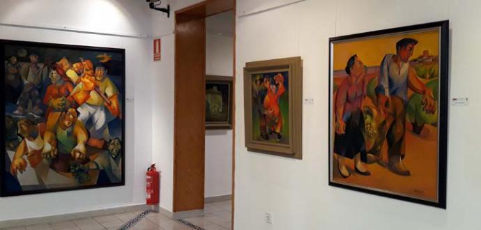 El artista José Herreros celebra su 90 cumpleaños, con una exposición antológica