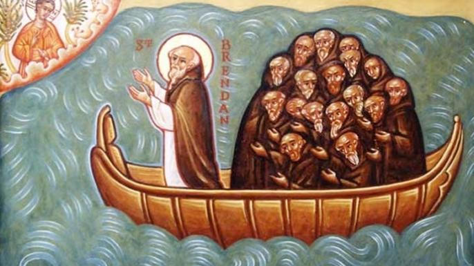 San Brendan llegó a América antes que Cristóbal Colón