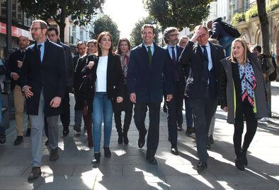 """Casado presenta su candidatura como de """"integración real"""" y de la unidad"""