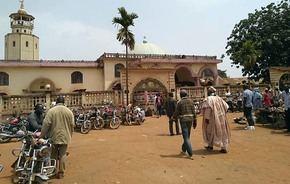 Una mezquita...