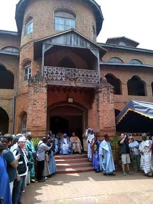 Palacio de un rey camerunés...