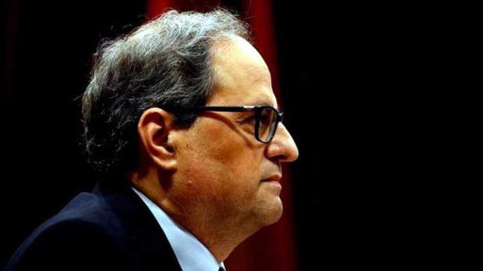 La CUP mantiene la abstención a Quim Torra y facilita su investidura como president de la Generalitat