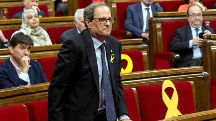 El independentista Torra supera el último escollo para presidir Cataluña