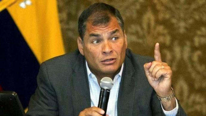 Rafael Correa actual (y hasta el 24MAY) presidente de Ecuador
