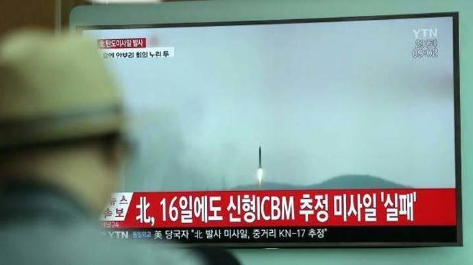 Corea del Norte lanza un proyectil no identificado