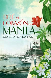 """Marta Galatas, autora de la novela histórica """"Dejé mi corazón en Manila"""", publicada por La Esfera de los Libros"""