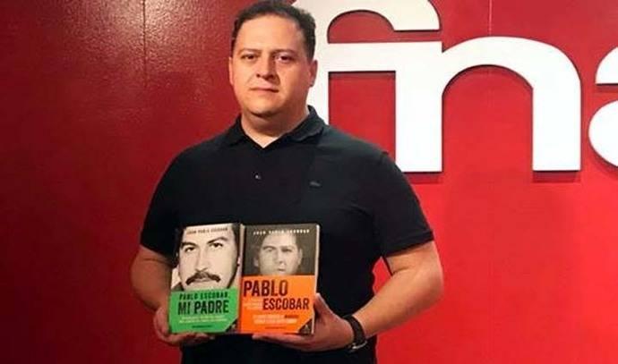 Juan Pablo Escobar, hijo del narcotraficante Pablo Escobar, ha presentado su nuevo libro en España
