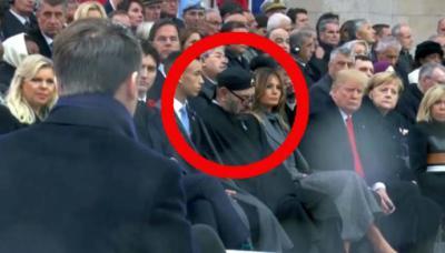 Trump sorprende al rey de Marruecos durmiendo en pleno discurso
