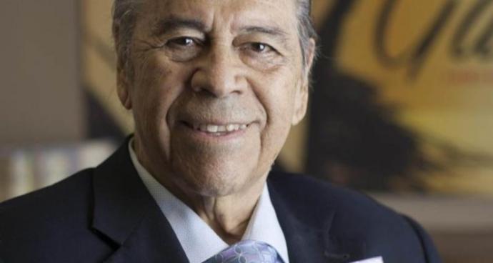 Lucho Gatica, en una de sus últimas fotos