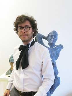 Stefan Florian y Teddy Cobeña exponen acuarelas y esculturas en la galería Eka&Moor en Madrid