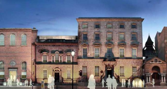 MOLI - Museo de Literatura-Irlanda de la Universidad de Dublín