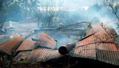 Diez mujeres murieron la madrugada de este martes en un violento incendio en un hogar de ancianos en el sur de Chile, informaron las autoridades.