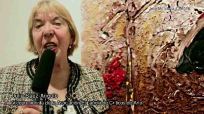 Julia Sáez-Angulo, crítica de arte, escritora , maniática y alérgica a ciertas situaciones