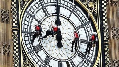 Campana del Big Ben estará en silencio durante cuatro años