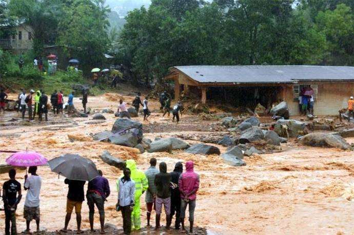 Esta es una de las peores tragedias en Sierra Leona, según organizaciones civiles.