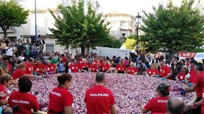 Fiesta del pulpo en Carballino