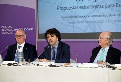 Ignacio Buqueras, a la derecha en la imagen...