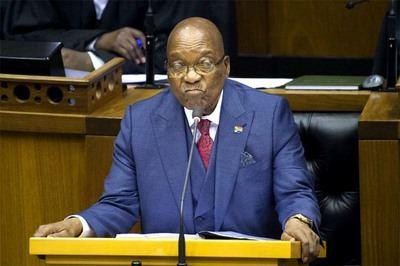 Partido gobernante sudafricano da plazo hasta hoy a Zuma para dimitir