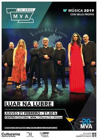 La banda gallega Luar Na Lubre lleva la música celta al MVA