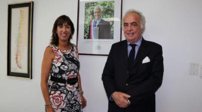 Corporación de Puertos del Cono Sur se reunió con subsecretaria de Turismo