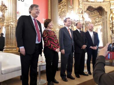 Presentación de ARCO 2019 en el Palacio de Linares