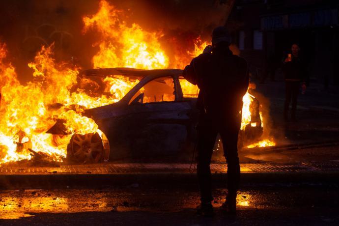 Violentas protestas en favor del retiro anticipado de fondos de las AFP