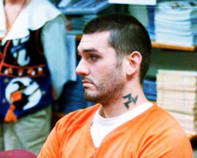 El supremacista blanco Daniel Lewis Lee, en una imagen de archivo durante una de las sesiones de su juicio