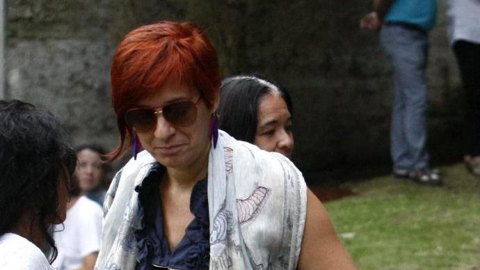 Sandra Ortega, en una de las pocas fotografías públicas que hay de ellaCabalar/EFE