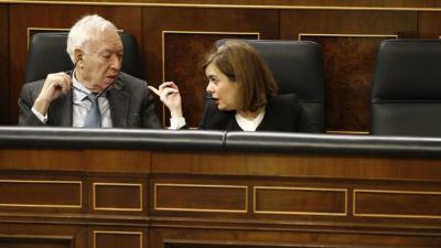 Imagen de archivo de Margallo y Sáenz de Santamaría.