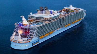 El Symphony of the seas, el mayor crucero del mundo