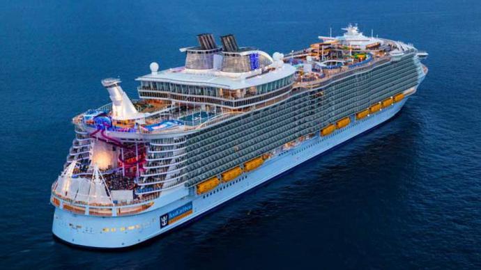 El Symphony of the seas, el mayor crucero del mundo