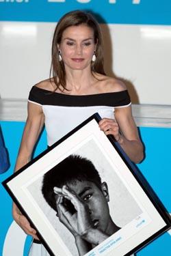 La Reina hace entrega de varios premios de reconocimiento